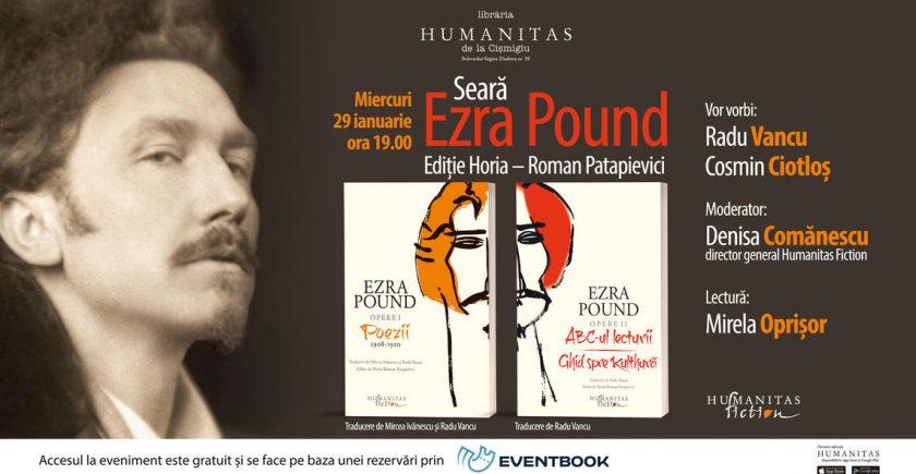 seara-dedicata-lui-ezra-pound-poet-si-eseist,-reprezentant-de-marca-al-modernismului-literar-la-libraria-humanitas-de-la-cismigiu