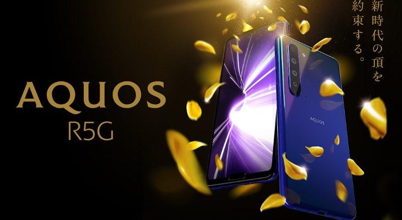 Sharp Aquos R5G – smartphone-ul cu două bretoane, filmare 8K şi display QHD+ este comercializat global la aproape 1200 dolari – Gadget.ro